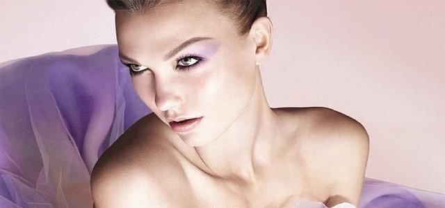 Hur utför man brudsminkning för lila, rökiga ögon?